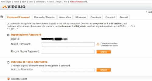 myblog,funzionalità,tips and tricks,password